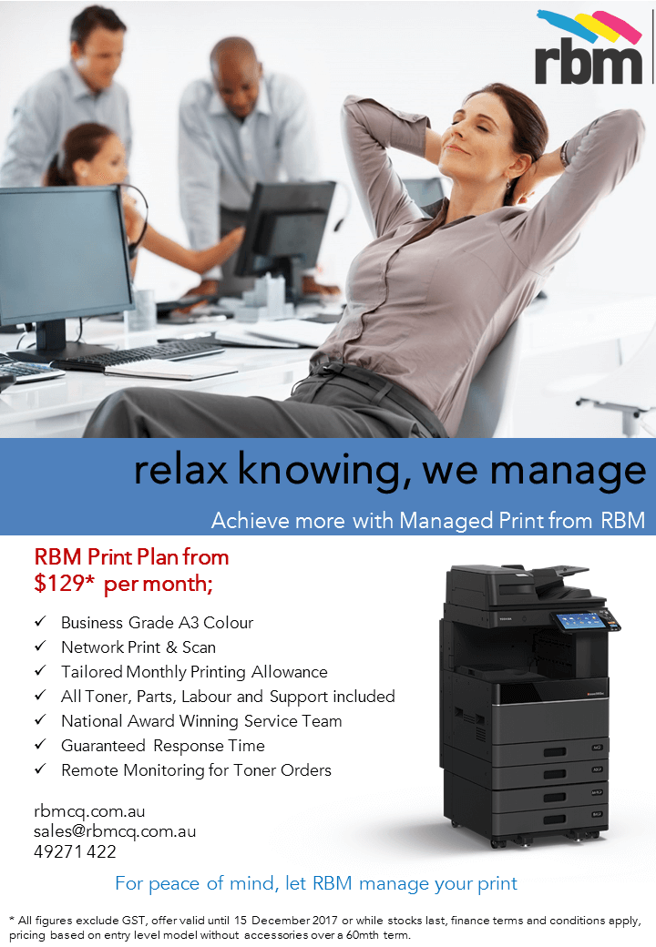 New FY 2017_2018 Toshiba Technology Boost flyer plus managed print.$129 MPS Solutions